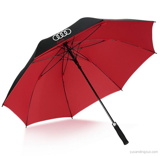 厂家雨伞定制logo 直杆广告伞定做